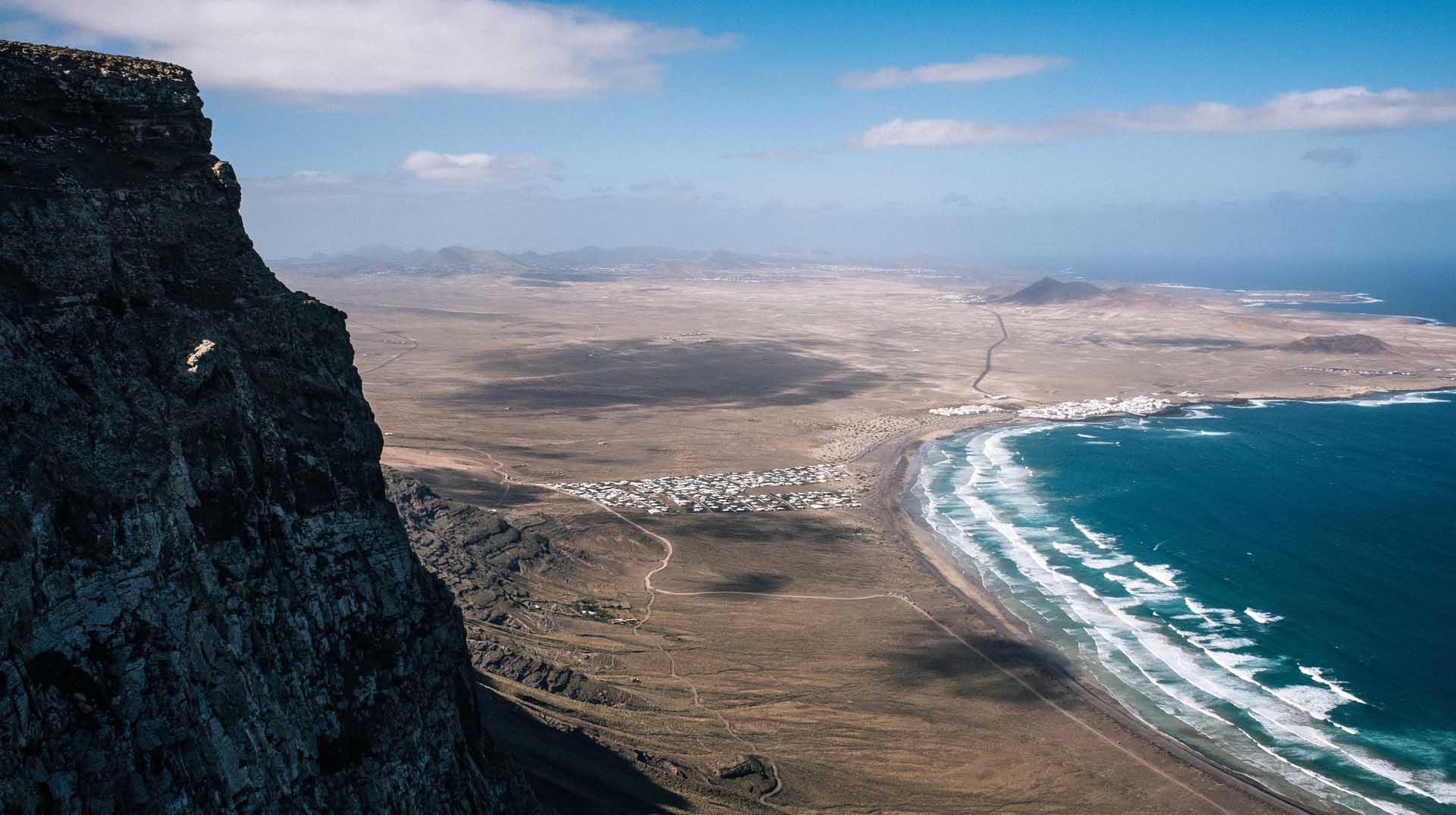 isola di Lanzarote nelle canarie