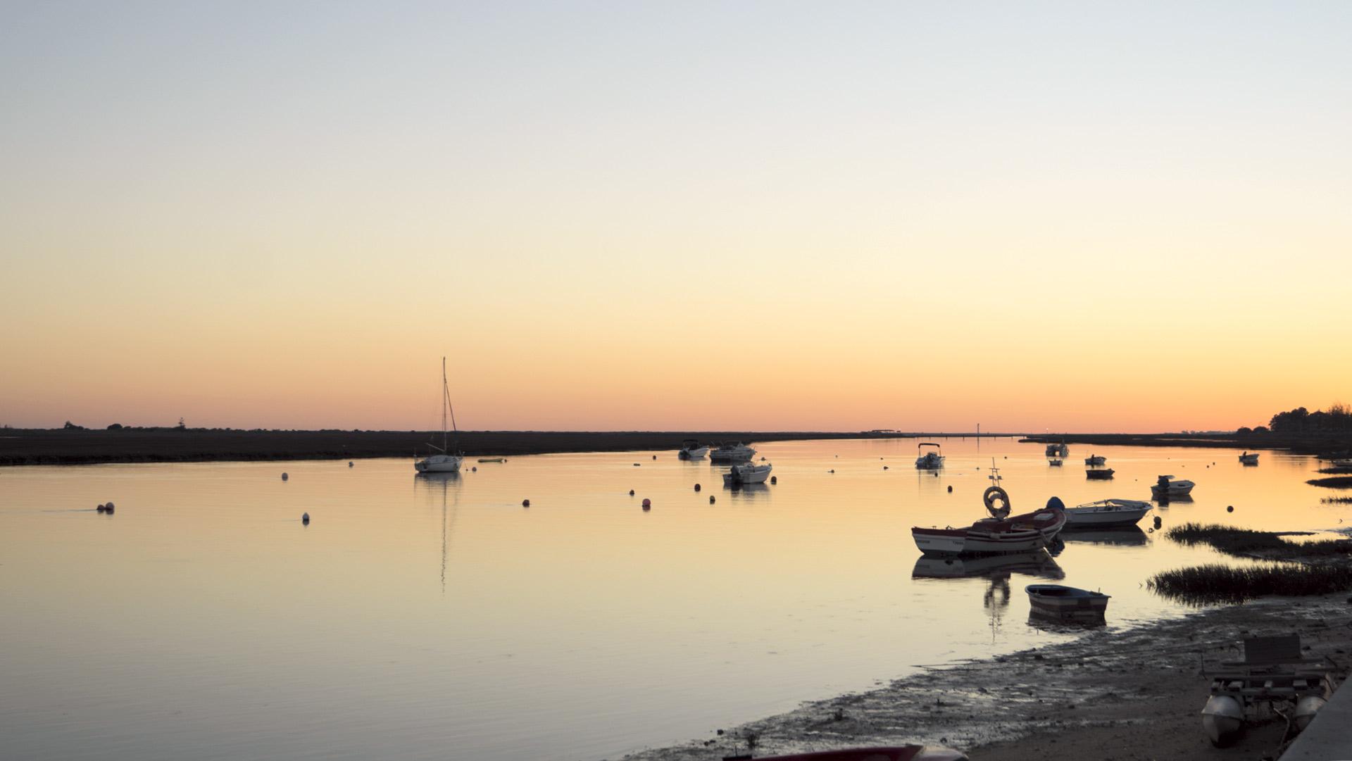 vacanza in algarve il tramonto a santa luzia