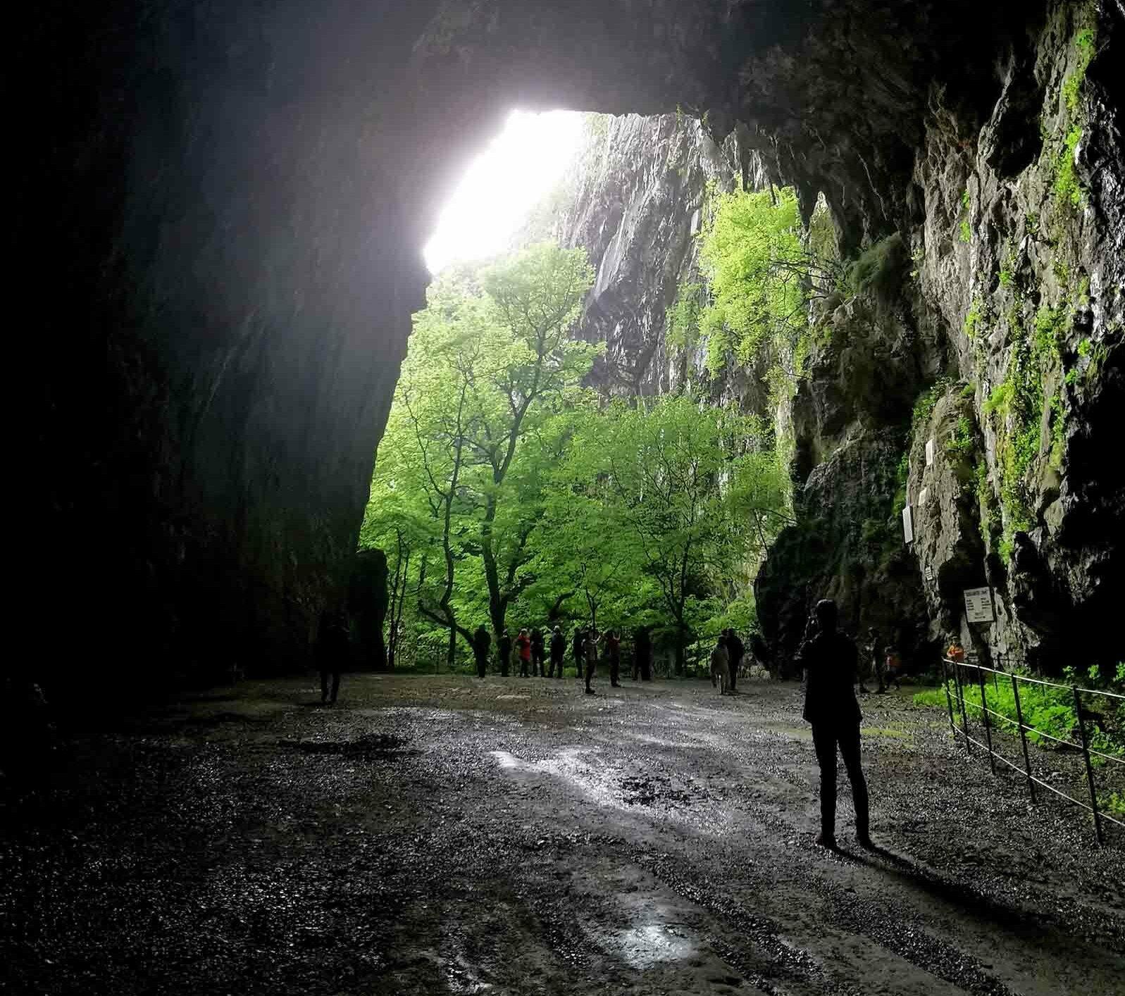 Grotte di San Canziano in Slovenia