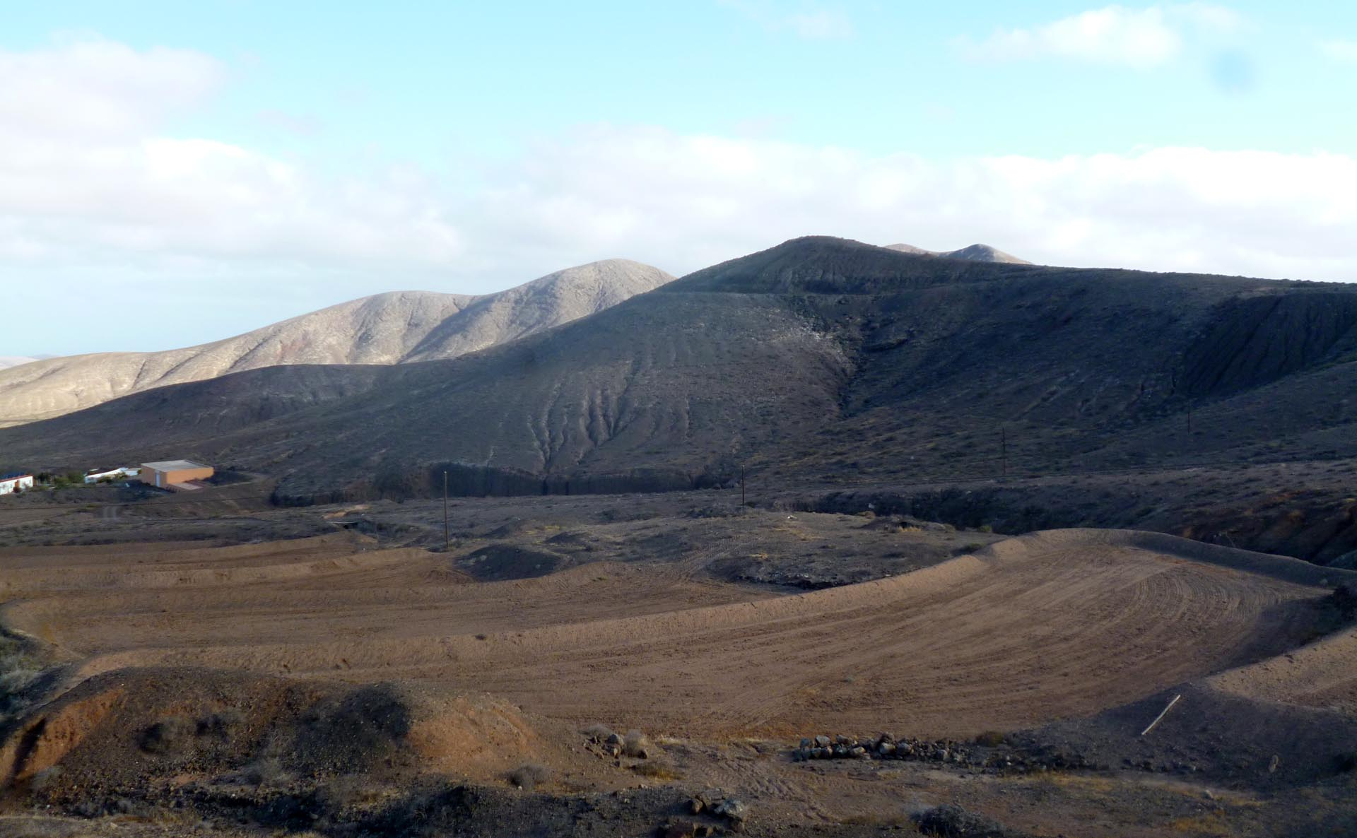 Viaggio a Fuerteventura panorama alle isole Canarie