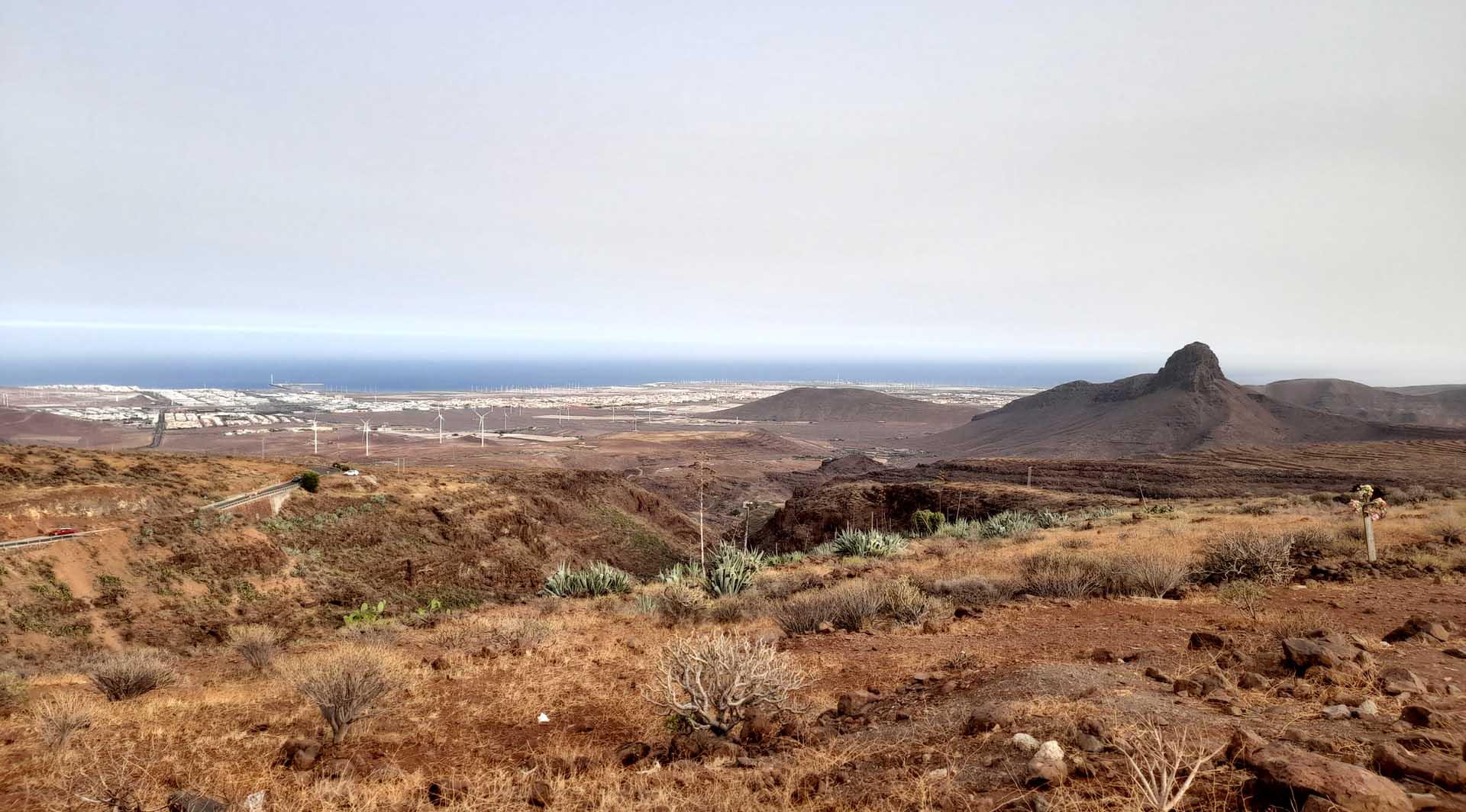 panorama canario dal barranco de las vacas a gran canaria