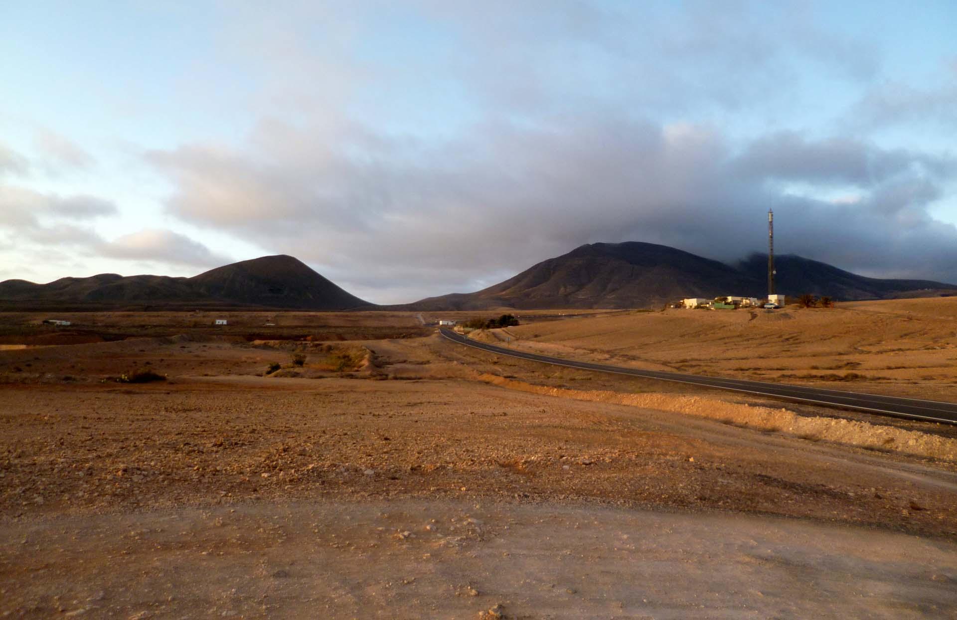 panorama di Fuerteventura nelle isole Canarie