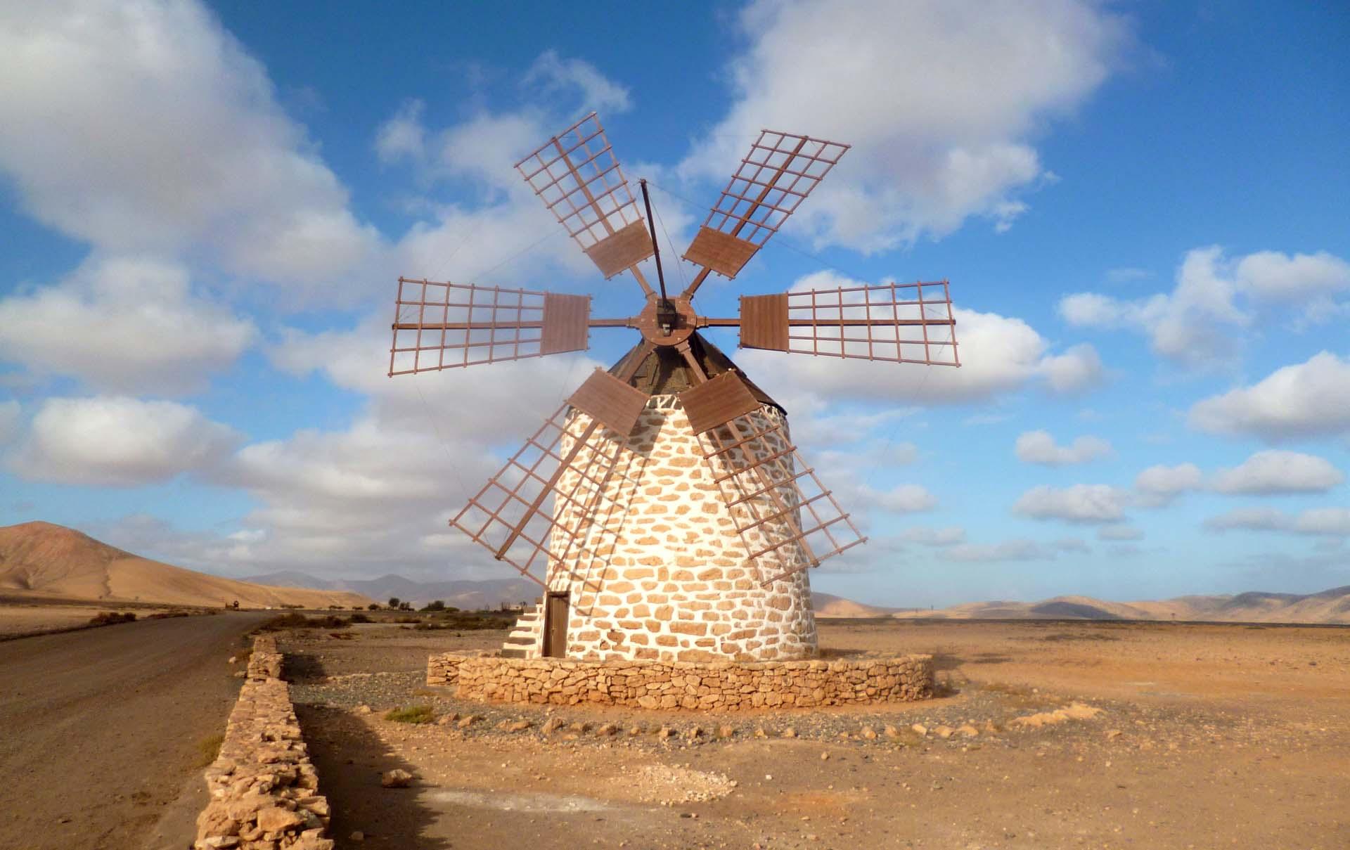 Fuerteventura e visita ai mulini di Tefìa