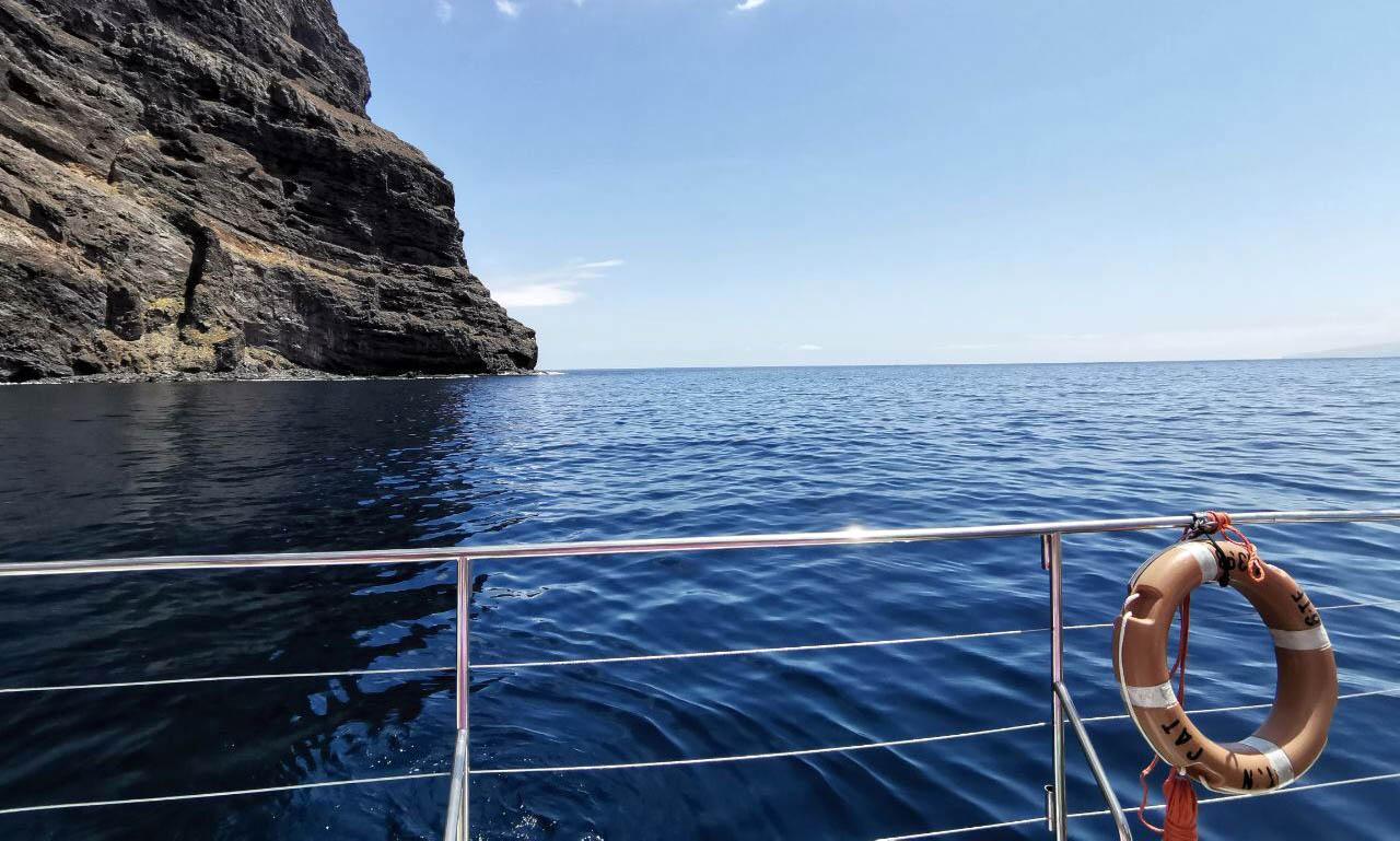 viaggio a Tenerife ed esperienza di whale watching a los gigantes
